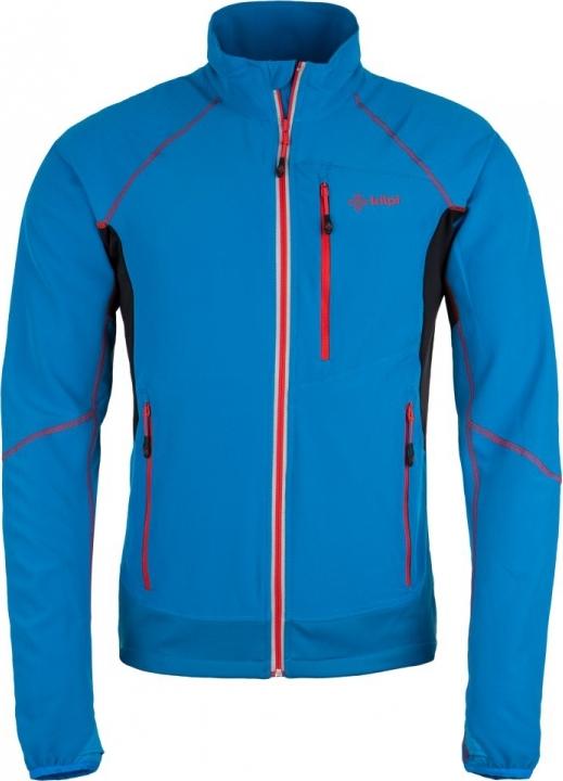 Pánská technická strečová bunda KILPI NORDIM-M Modrá Barva: Modrá, Velikost: 3XL