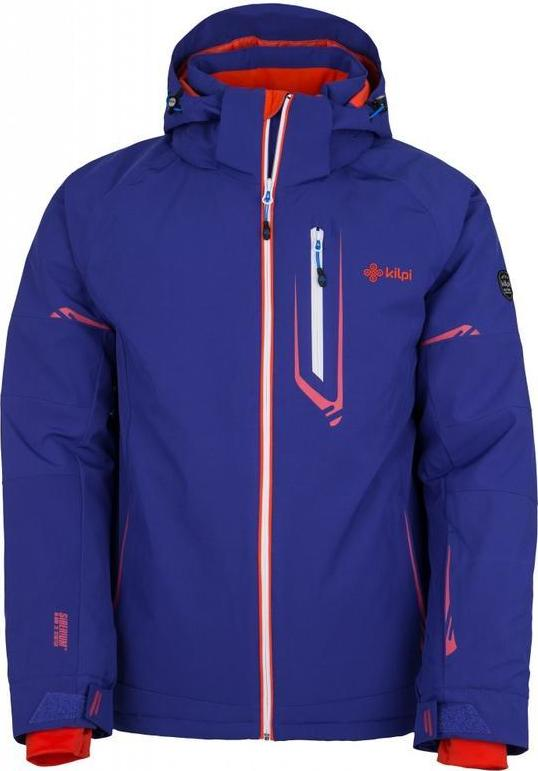 Pánská lyžařská bunda KILPI URAN-M Modrá Barva: Modrá, Velikost: M