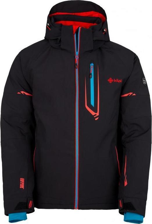 Pánská lyžařská bunda KILPI URAN-M Černá Barva: Černá, Velikost: XS