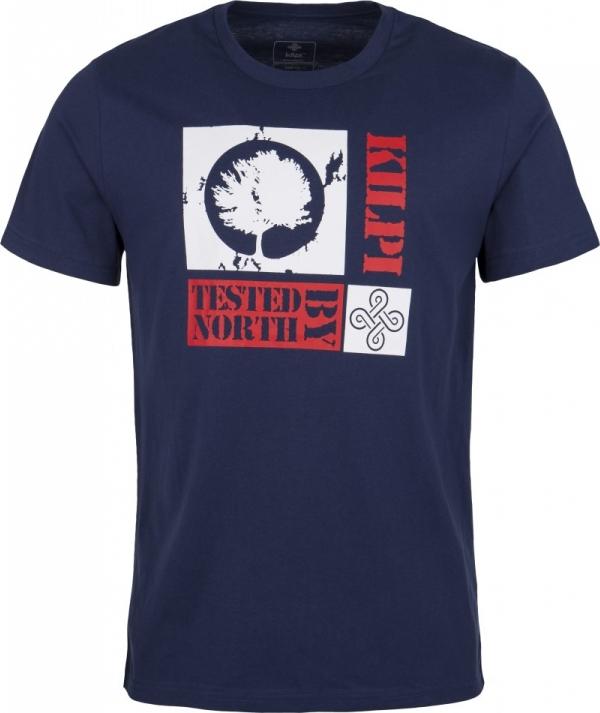Pánské tričko KILPI TREE-M Tmavě modrá Barva: Modrá, Velikost: 3XL