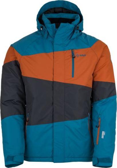 Pánská lyžařská bunda KILPI KALLY-M Modrá Barva: Modrá, Velikost: 3XL
