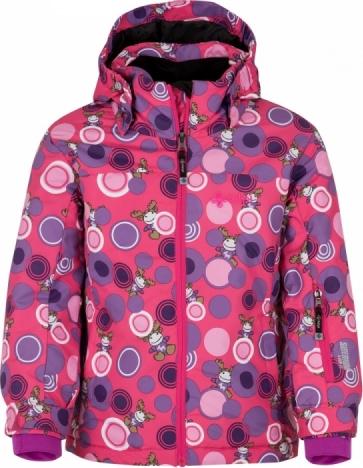 Dívčí lyžařská bunda KILPI GENOVESA-JG GENOVESA-JG Růžová Barva: Růžová, Velikost: 122
