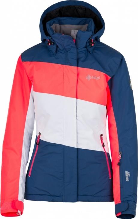 Dámská lyžařská bunda KILPI KALLY-W Modrá Barva: Modrá, Velikost: 38