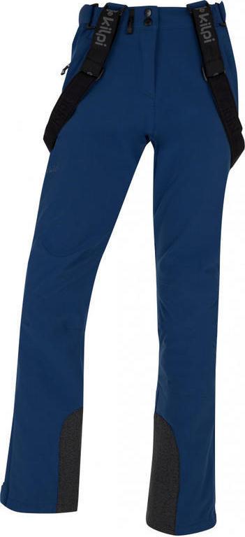 Dámské softshellové kalhoty KILPI RHEA-W Tmavě modrá 18 Barva: Modrá, Velikost: 42
