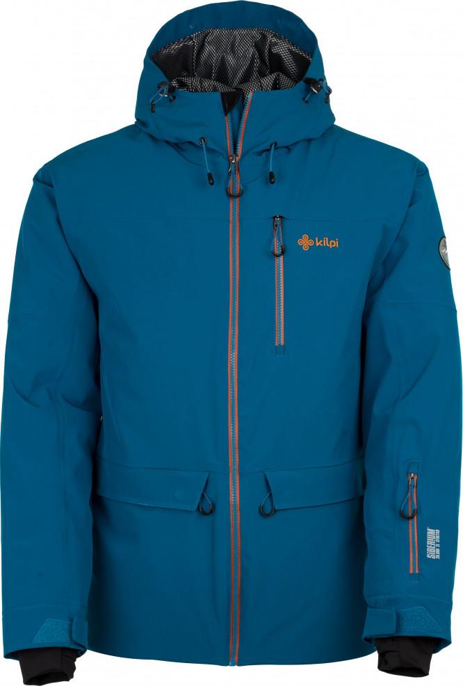 Pánská lyžařská bunda KILPI CLIF-M CLIF-M Modrá Barva: Modrá, Velikost: M