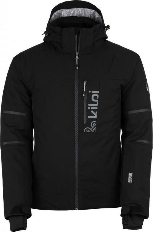 Pánská lyžařská bunda KILPI URAN-M Černá 18 Barva: Černá, Velikost: 3XL