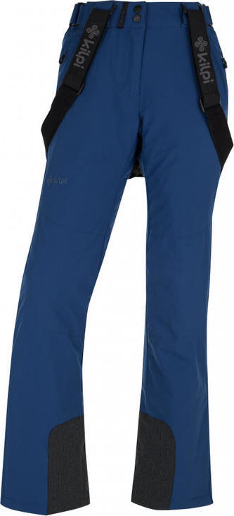 Dámské lyžařské kalhoty KILPI ELARE-W Modrá Barva: Modrá, Velikost: 42