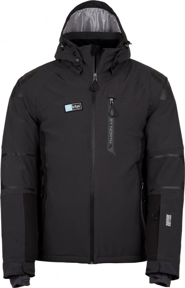 Pánská lyžařská bunda KILPI CARPO-M Tmavě šedá Barva: Šedá, Velikost: 3XL