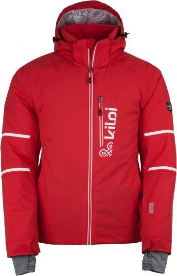 Pánská lyžařská bunda KILPI URAN-M Červená Barva: Červená, Velikost: M