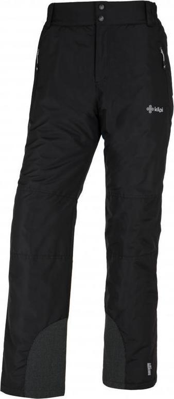 Pánské lyžařské kalhoty KILPI GABONE-M Černá Barva: Černá, Velikost: XL