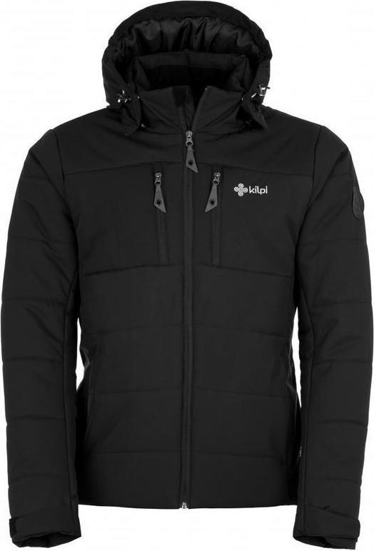 Pánská zimní bunda KILPI TORRES-M Černá 18 Barva: Černá, Velikost: M