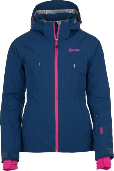 Dámská lyžařská bunda KILPI ADDISON-W Tmavě modrá Barva: Modrá, Velikost: 38