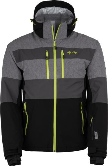Pánská zimní lyžařská bunda KILPI APOLLO-M Černá Barva: Černá, Velikost: 3XL