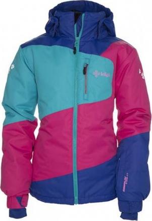 Dívčí lyžařská bunda KILPI HAVA-K Tyrkysová Barva: Tyrkysová, Velikost: 98_104