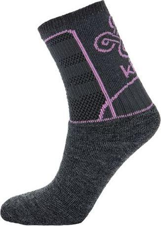 Dámské funkční ponožky KILPI MOHANA-L světle šedá Barva: Šedá, Velikost: 35_38
