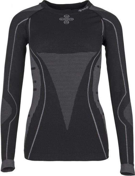 Dámské thermo tričko KILPI NIXTOP-W Černá Barva: Černá, Velikost: 40_42