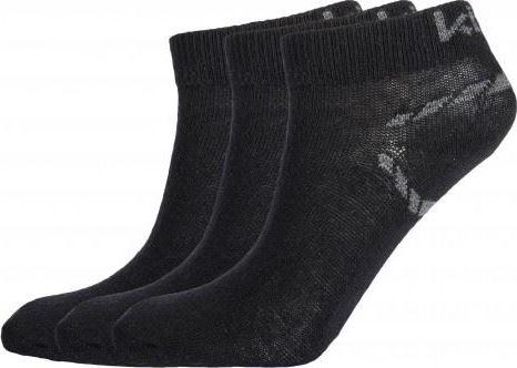 Kotníčkové ponožky KILPI BARTLET Černá Barva: Černá, Velikost: 35_38