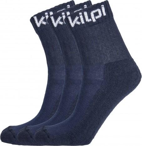 Funkční sportovní ponožky KILPI BENAYA Modrá Barva: Modrá, Velikost: 35_38