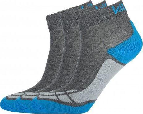 Pánské funkční sportovní ponožky KILPI BACHUR Modrá Barva: Modrá, Velikost: 35_38