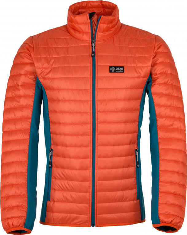 Pánská outdoor bunda KILPI ISAIAH-M Oranžová Barva: Oranžová, Velikost: XL