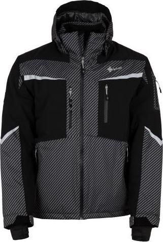 Pánská lyžařská bunda KILPI IO-M Tmavě šedá Barva: Šedá, Velikost: L