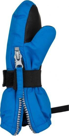 Dětské zimní rukavice KILPI BAMBIE-JB Modrá 18 Barva: Modrá, Velikost: 3 roky