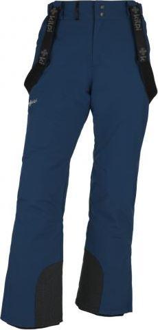 Pánské lyžařské kalhoty KILPI MIMAS-M Tmavě modrá Barva: Modrá, Velikost: 3XL