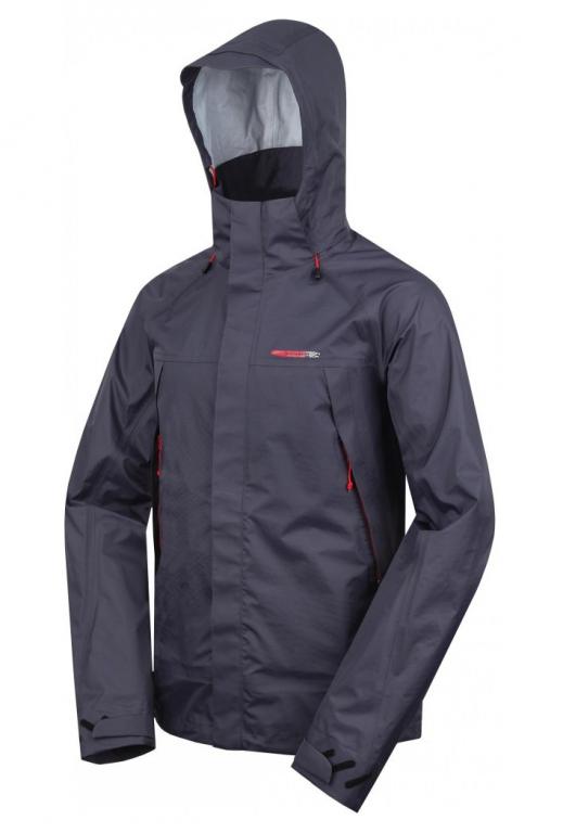Pánská technická bunda Loap TOMAS černá Barva: Černá, Velikost: L