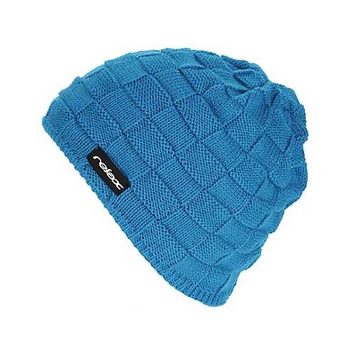 Zimní pletená čepice Relax RKH22D modrá