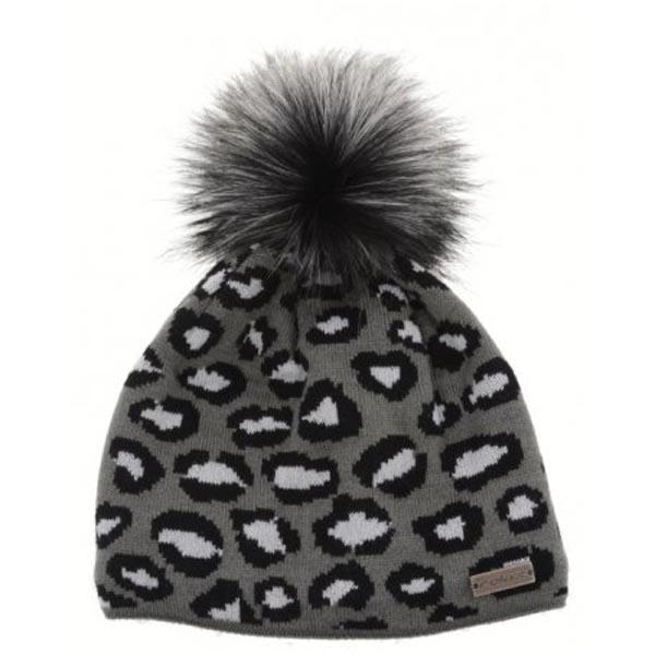 zimní čepice Relax RKH102A černá/šedá