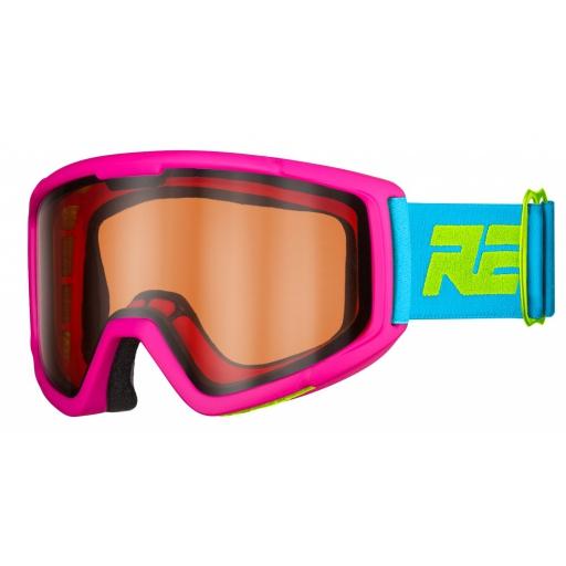 Dětské lyžařské brýle Relax SLIDER HTG30A matná růžová 18