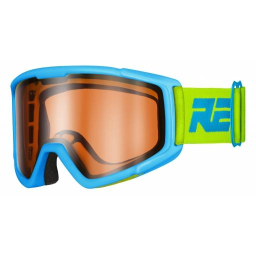 Dětské lyžařské brýle Relax SLIDER HTG30B matná modrá 18