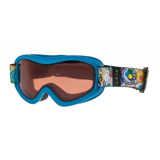 Dětské lyžařské brýle Relax TEDDY HTG33H matná modrá 18