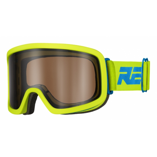 Lyžařské brýle Relax PLANE HTG05A matná neon žlutá, černá 18