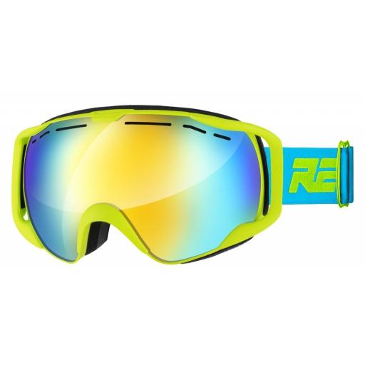 Lyžařské brýle Relax HORNET HTG57B matná neon žlutá Barva: Žlutá, Velikost: UNI