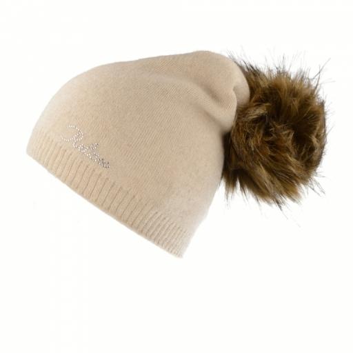 Zimní čepice Relax LUISA RKH118B Béžová