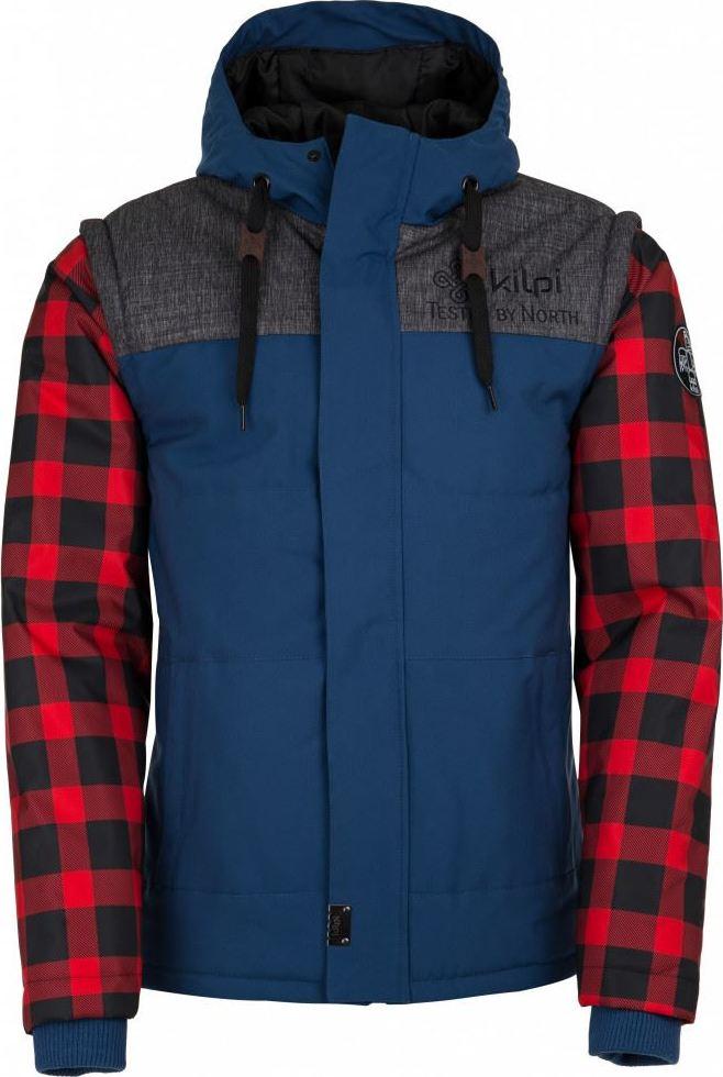 Pánská zimní bunda KILPI KIWI-M Modrá Barva: Modrá, Velikost: 3XL