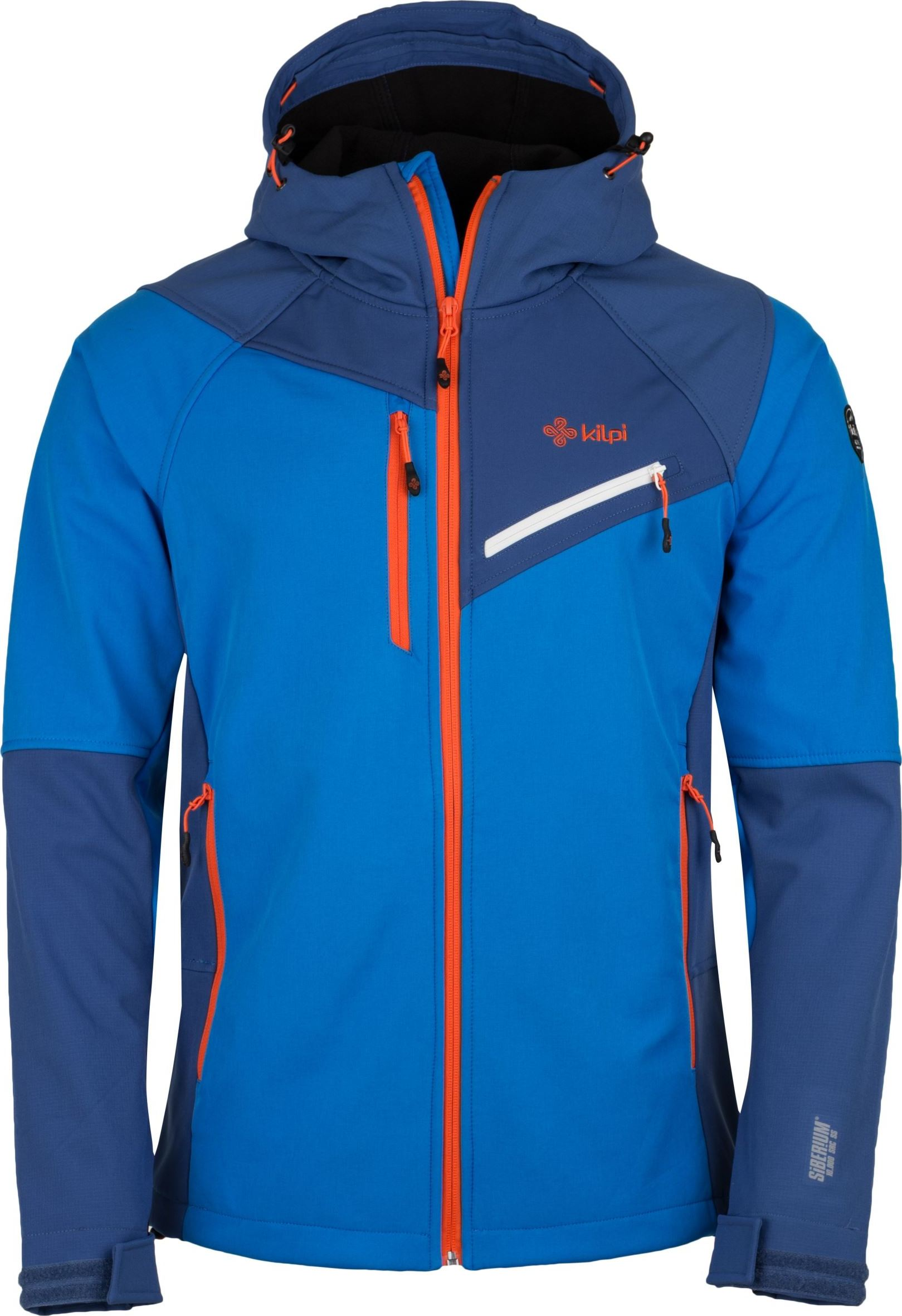 Pánská softshellová bunda KILPI ZENITH-M Modrá Barva: Modrá, Velikost: 3XL