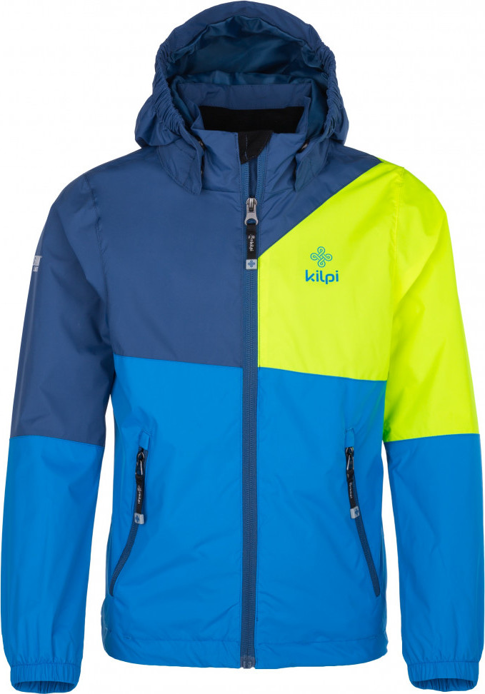 Chlapecká outdoorová bunda KILPI BRITLE-JB Modrá 18 Barva: Modrá, Velikost: 146