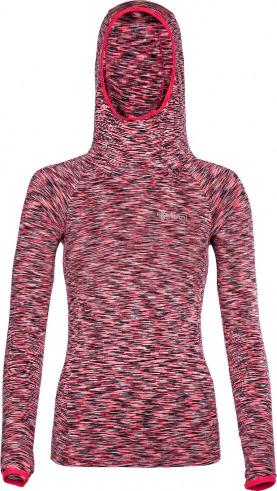 Dámské funkční tričko s dlouhým rukávem KILPI DIVER-W Růžová 18 Barva: Růžová, Velikost: 46