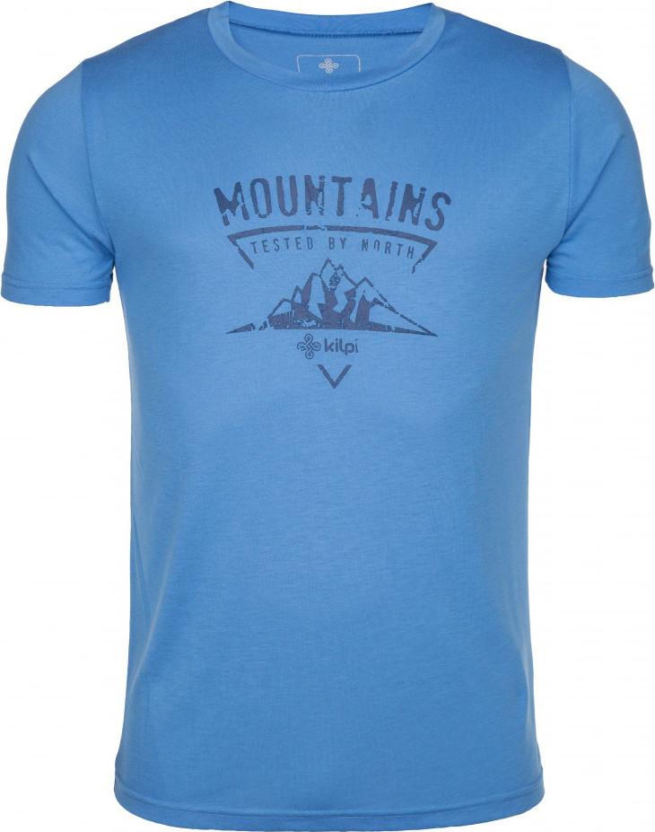 Pánské tričko KILPI GAROVE-M Modrá 18 Barva: Modrá, Velikost: 3XL
