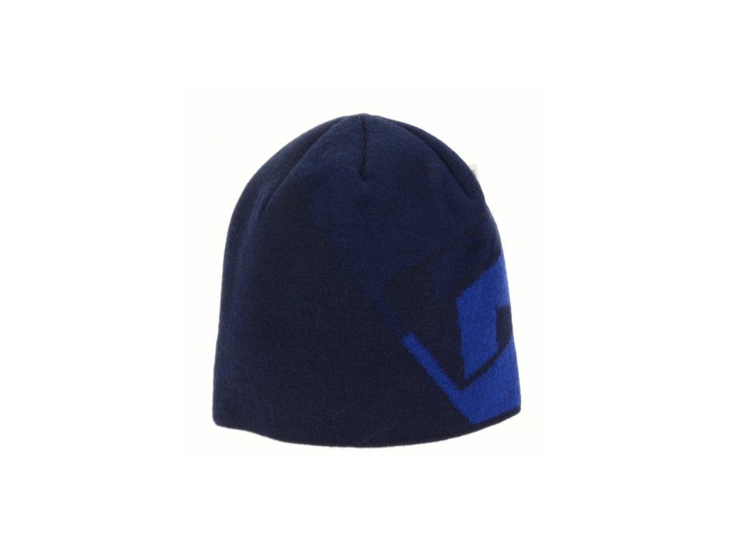 Pánská zimní čepice Relax RKH138B NERO Modrá