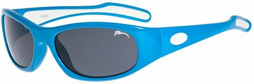 Dětské sluneční brýle Relax Luchu R3063D lesklá modrá Barva: Modrá, Velikost: UNI