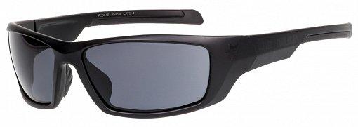 Sportovní sluneční brýle Relax Pharus R5337 lesklá černá Barva: Černá, Velikost: UNI