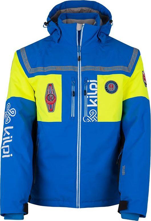 Pánská zimní technická bunda KILPI TEAM-M Modrá Barva: Modrá, Velikost: M
