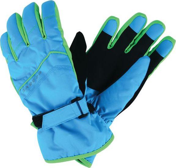 610c9cb9acc Dětské lyžařské rukavice Dare2B DBG306 FLAG DOWN II. Světle modrá Barva   Modrá