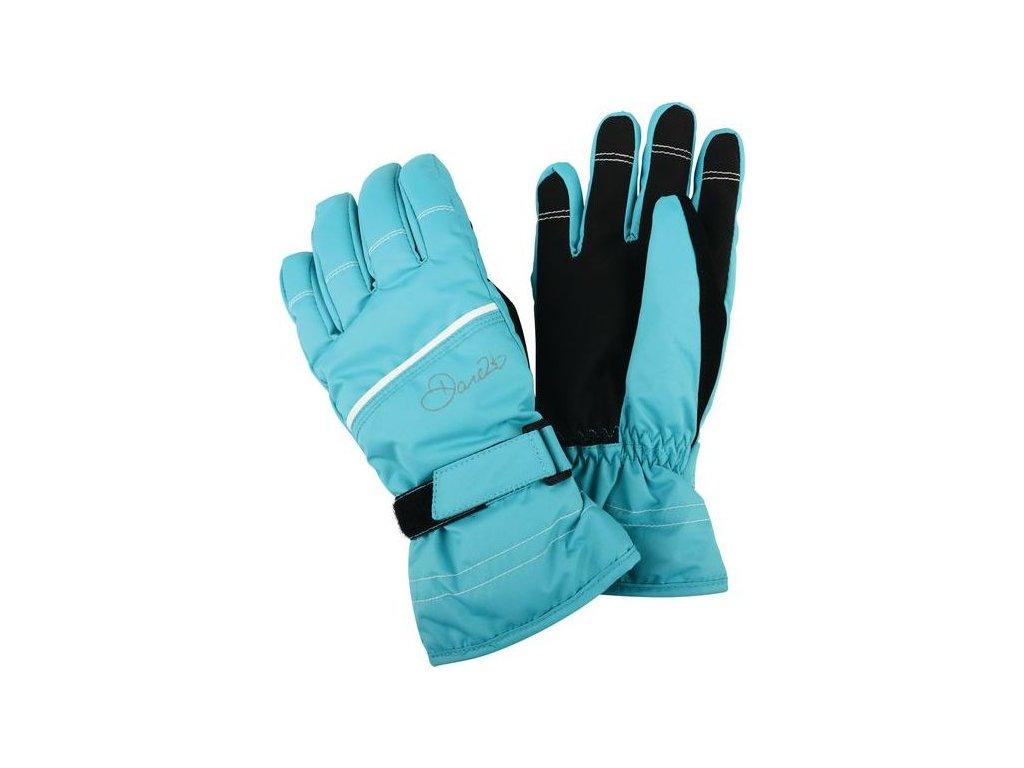 Detské lyžiarske rukavice Dare2B DGG306 HAND PICK II Aqua