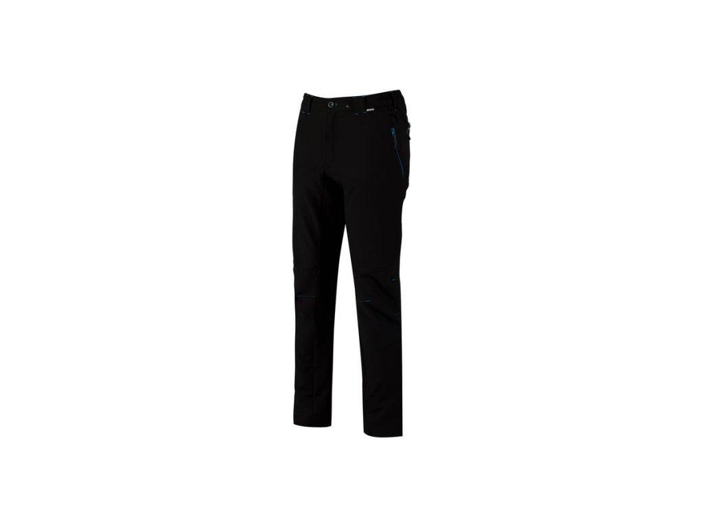 Pánske outdoorové nohavice Regatta RMJ190R QUESTRA Čierna