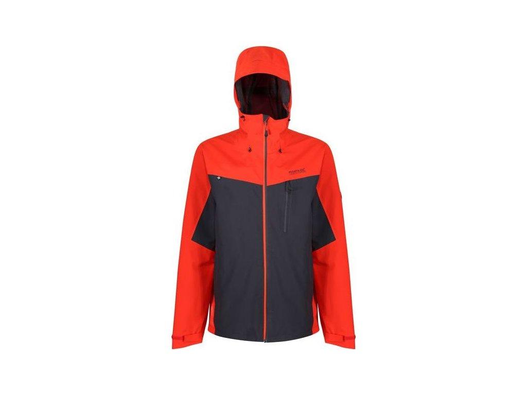 Pánska outdoorová bunda Regatta RMW279 BIRCHDALE Oranžová