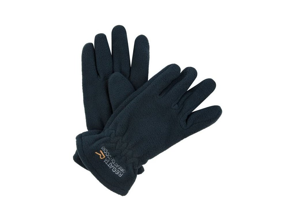 Detské zimné rukavice Regatta RKG024 TAZ GLOVES II Tmavomodrá